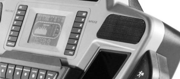 f63 treadmill display